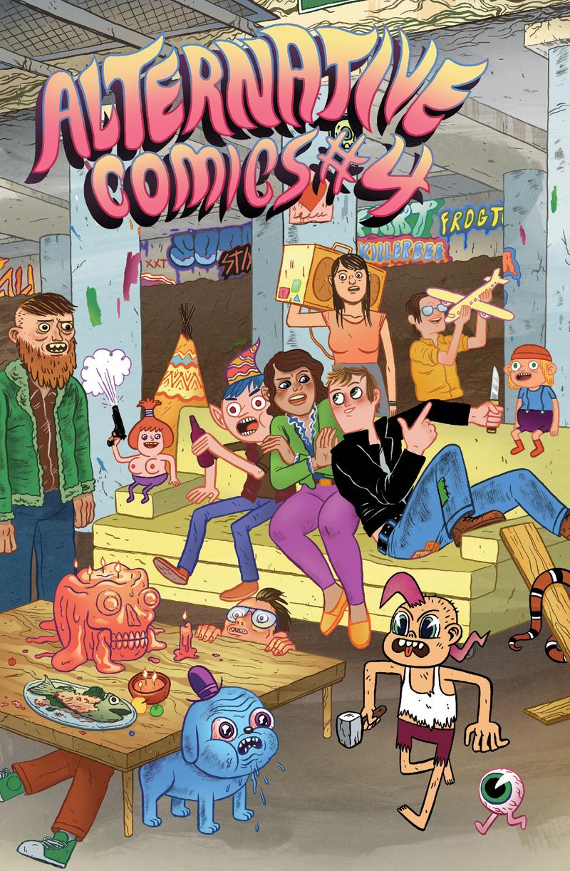 Alternative Comics #4 — Anthology