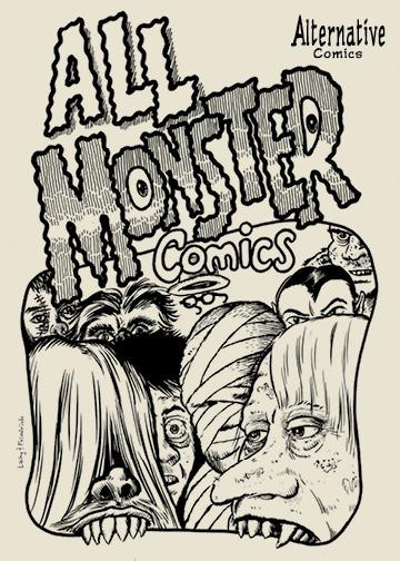 Alternative Comics Presents All Monster Comics